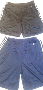 Vintage Champion Striped Shorts-XL